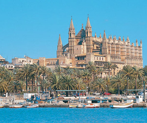 Harbour at Palma.